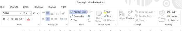 Image result for Using arrows and pointers with Microsoft Visio