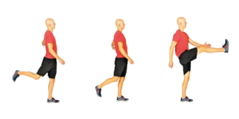 Image result for walking leg swings