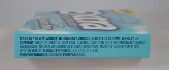 Image result for extra gum ingredients