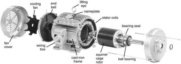 Image result for three phase induction motor