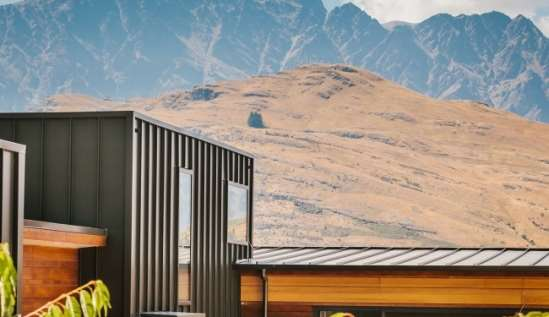 Highview Terrace Queenstown COLORSTEEL ENDURA Ironsand2 1