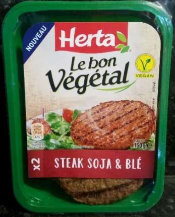 Image result for herta steak soja et blé