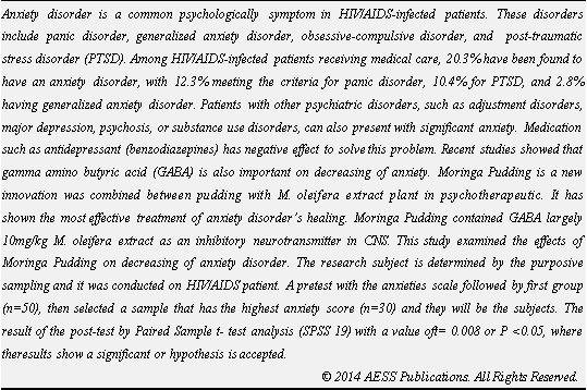 Humor and its effects on anxiety disorders essay