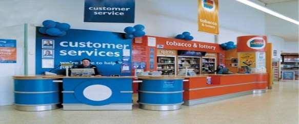 Image result for image of customer service in tesco