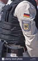http://c8.alamy.com/comp/CRDRGK/uniform-of-the-german-federal-police-with-bulletproof-vest-safety-CRDRGK.jpg